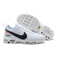 Nike Air Max Plus Tn Ultra x Off-White Running Shoes - Best Deal Online