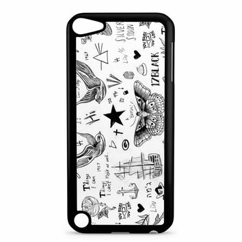 Harry Styles Tattoos iPod Touch 5 Case