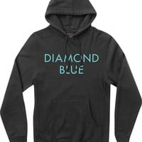 Diamond Blue Hoody XXL Black/Diamond Blue