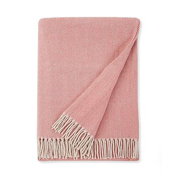 Celine Salmon Throw by Sferra