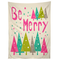 Heather Dutton Be Merry Tapestry