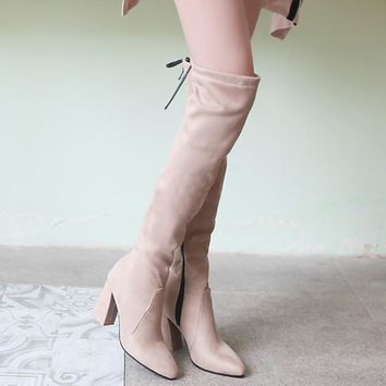 On Sale Hot Deal Shoes Stretch Extra Large Boots [120849498137]