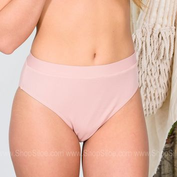 En Pointe Blush Swimsuit Bottoms