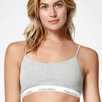 DCCKJH6 Calvin Klein One Cotton Bralette