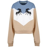 Woman Striped Autumn Sweater by OFF-WHITE