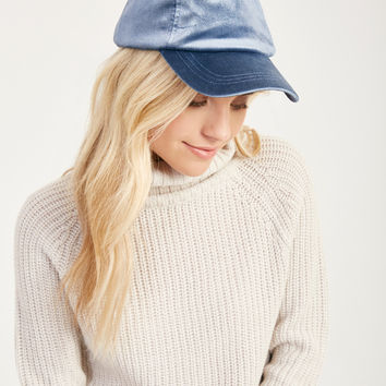 Velvet Baseball Cap | Wet Seal