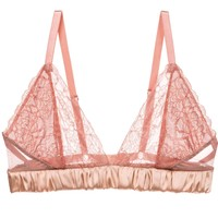 Luxe Alexis Soft Cup Bralette in Pink Clay (30G, 32F, 34DD/E)
