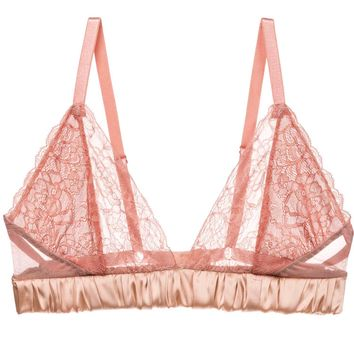 Luxe Alexis Soft Cup Bralette in Pink Clay (30G, 32F, 34B-E)
