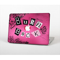 The Burn Book Pink Skin Set for the Apple MacBook Pro 13""