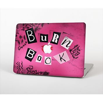 The Burn Book Pink Skin Set for the Apple MacBook Air 11""