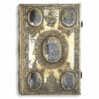a russian book of gospels with fine silver and niello binding, Moscow, circa 1800 | lot | Sotheby's