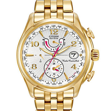 Citizen Ladies Eco-Drive World Time Atomic Timekeeping Watch