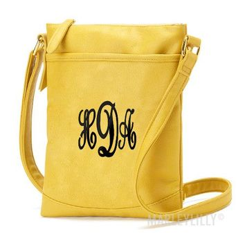 Monogrammed Crossbody Purse | Marley Lilly