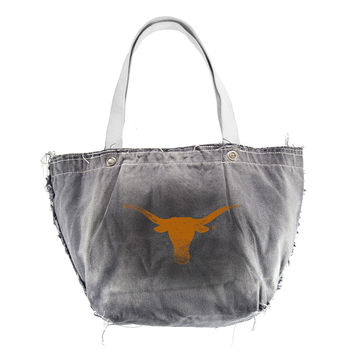 Texas Longhorns NCAA Vintage Denim Tote
