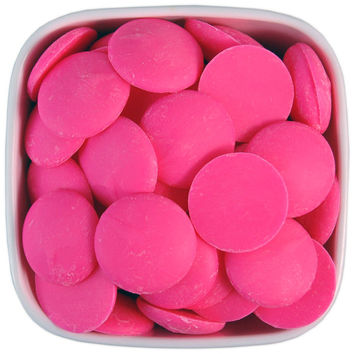 Bright Pink Candy Melts 1LB