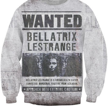 Alisister new arrival 3d Bellatrix Lestrange Sweats Hoodies men women tracksuit basic casual long sleeve pullovers