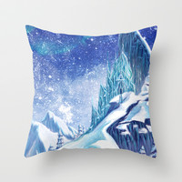 ~Frozen .:A Kingdom of Isolation:. Throw Pillow by Kimberly Castello