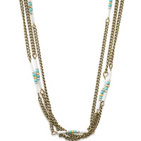 Beaded Layers Long-Strand Necklace