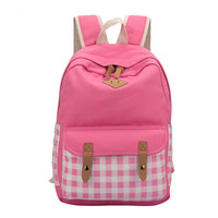 Backpack Casual Stylish Big Capacity Travel Bags [6304976068]