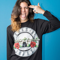 Guns N' Roses Long Sleeve T-shirt