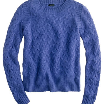 J.Crew Honeycomb Cable Knit Sweater (J. Crew)