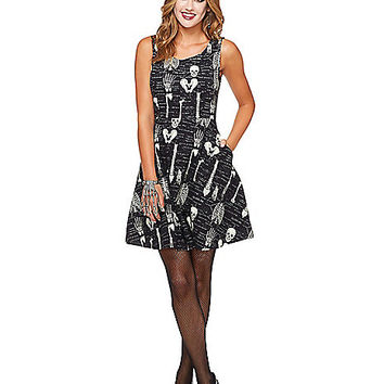 Adult Anatomical Skater Dress - Spirithalloween.com