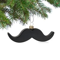 Mustache Ornament - Whimsical & Unique Gift Ideas for the Coolest Gift Givers