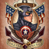 FOREVER YOUNG Art Print by Tim Shumate