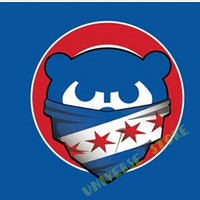 3X5FT MLB Chicago Cubs flag banner  metal Grommets Free Shipping  custom flag 100D Digital Print
