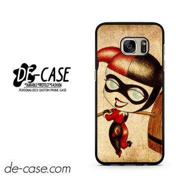 Harley Quinn And Joker Art Couple Case Device 2 DEAL-5070 Samsung Phonecase Cover For Samsung Galaxy S7 / S7 Edge