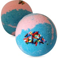 Cake Batter  Bath Bomb - Loads of Bubbles and Amazing Sweet Scent