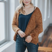 Soft & Cozy Cardigan, Cinnamon