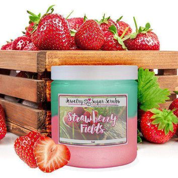 Strawberry Fields | Single Jewelry Sugar Scrub®