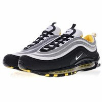"Nike Air Max 97 ""Black&Sliver"" Retro Running Shoes 921522-005"