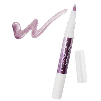 Pearlescent Lilac Edible Paint Click Twist Brush