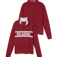University of Oklahoma Boyfriend Half Zip