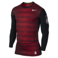Nike Pro Combat Core Compression Long-Sleeve Men's Football Shirt