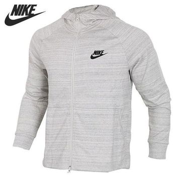 CREYLD1 Original New Arrival 2018 NIKE NSW AV15 HOODIE FZ KNIT Men s Jacket  Hooded Sportswear 3f5724dd627c