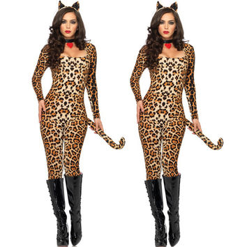 Club Leopard Women's Fashion Apparel [9220653700]