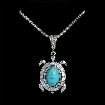 Pendant Natural Stone Necklaces For Women
