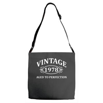 Vintage 1978 Aged to Perfection Adjustable Strap Totes