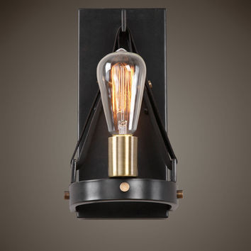Marlow 1 Light Dark Bronze Sconce