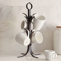 VINTAGE BLACKSMITH MUG TREE