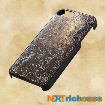 Vintage cigarette case silver metal For iPhone, iPod, iPad and Samsung Galaxy Case