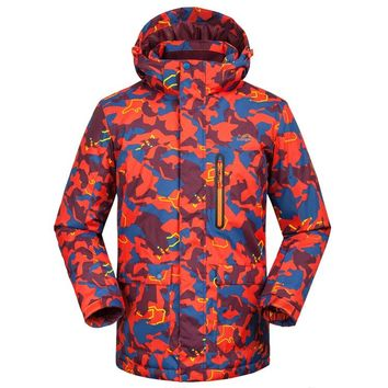 New Skiing Jackets For Men And Women Lovers Winter Veneer Double Waterproof Warm Thick Breathable Camouflage Ski Clothes