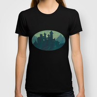 abandoned castle T-shirt by rysunki-malunki