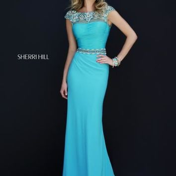 Sherri Hill Homecoming Dress 32026 at Peaches Boutique