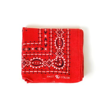 Trunk Up Elephant Brand Bandana, Rows