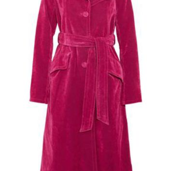 Cotton-blend velvet coat | MARC JACOBS | Sale up to 70% off | THE OUTNET