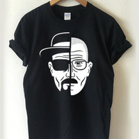 Breaking Bad two face T-shirt Men, Women Youth and Toddler
